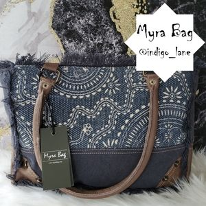 "💙 Myra ""Drawstring"" Canvas Handbag"